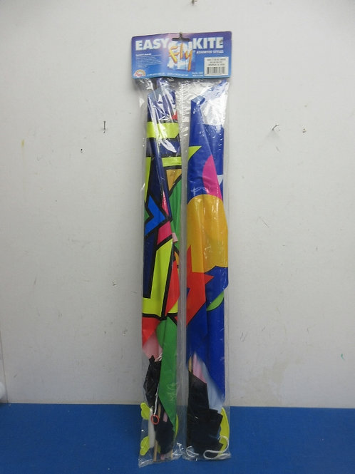 Pair of easy flyer kites with 2 cord winders, New