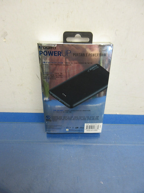 Duro power up portable power bank for a phone