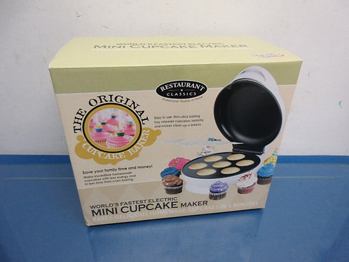 The Original Cupcake Baker, mini cupcake maker, in box