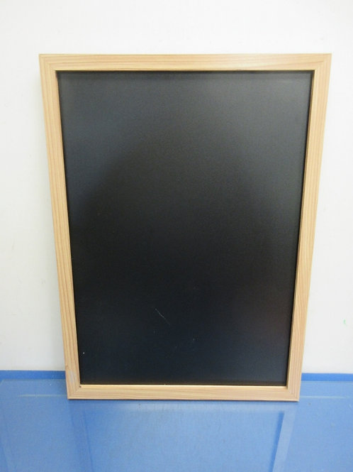The Board Dudes wood framed blackboard-17x23""