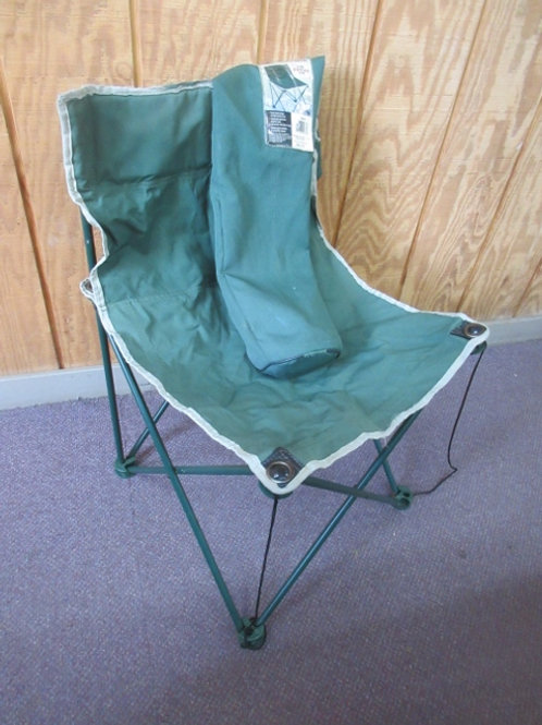 Pop out armless camping chair