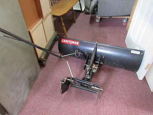 Craftsman riding mower plow attachment