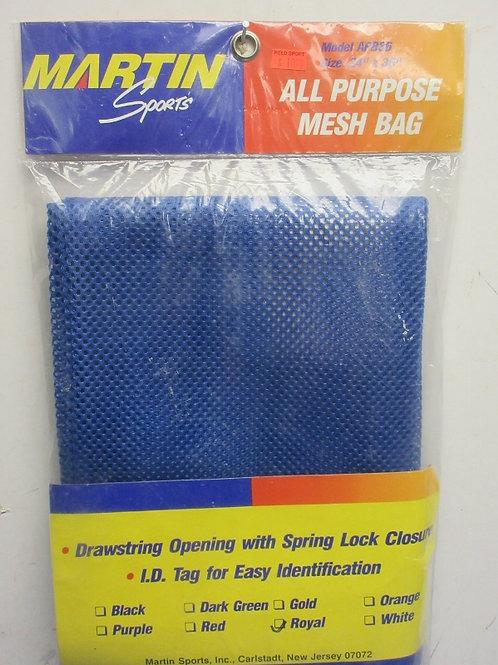 Blue mesh sports bag, new in pkg