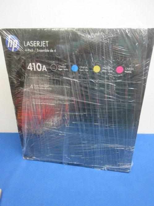HP lazer 4 pack of ink CF410, CF411, CF412, CF413, New, never used,