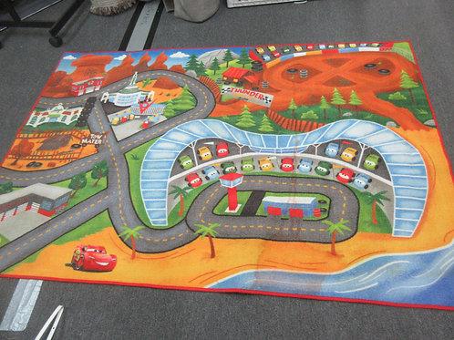 """Disney Cars area rug 4'6"""" x 6'6"""""""
