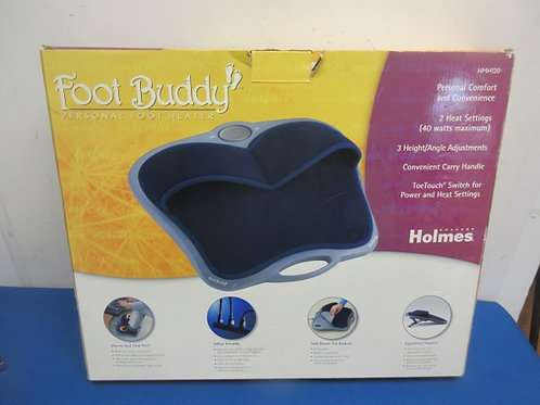 Foot buddy, personal electric foot warmer with washable liner
