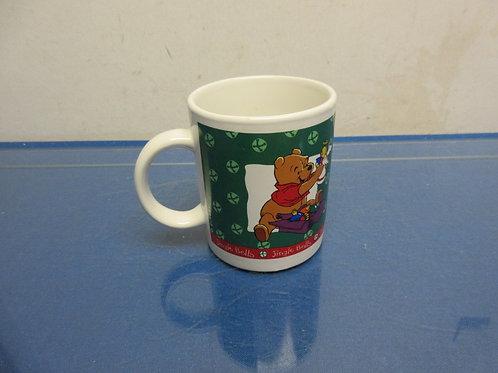Pooh and Tigger Christmas mug