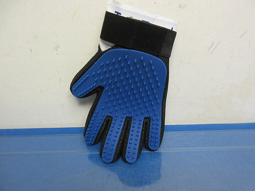 True Touch grooming glove, pet the hair away,  New