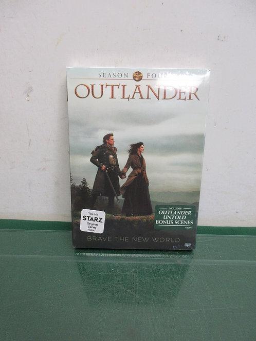 Outlander season four dvd set - new sealed