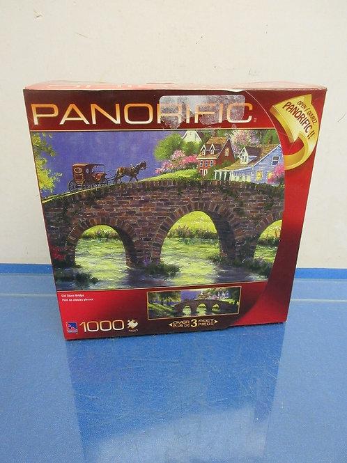 Panorific 1000pc puzzle, Old Stone Bridge