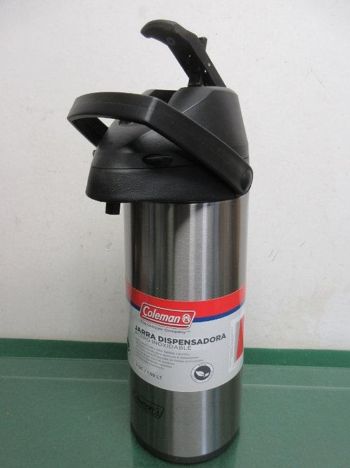 Coleman stainless steel vacuum bottle 1.5qt, New
