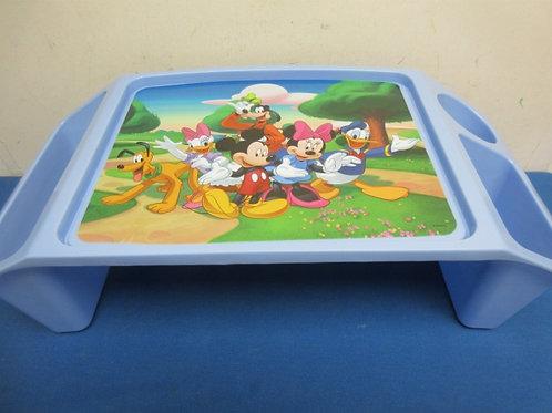 Mickey, Minnie, Donald & friends blue childs lap tray
