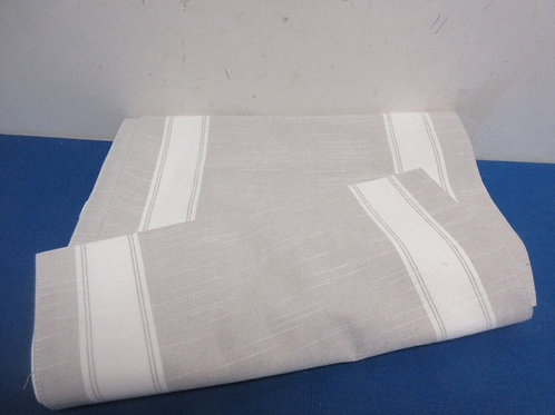 """Threshold  beige & cream table runner 14 x 108"""" -New"""