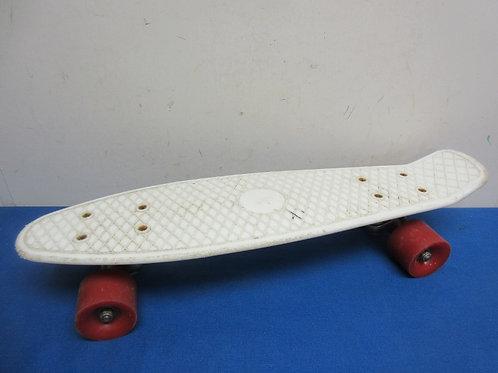 Small white skateboard