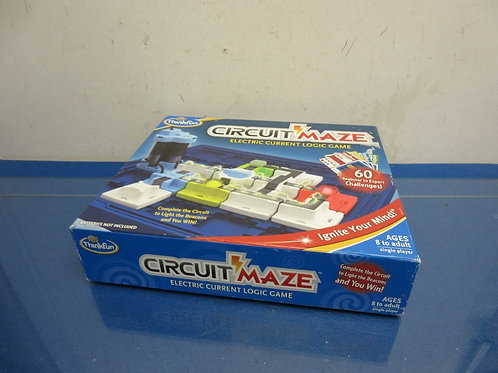 Think Fun Circuit Maze electric current logic game - single player - ages 8+