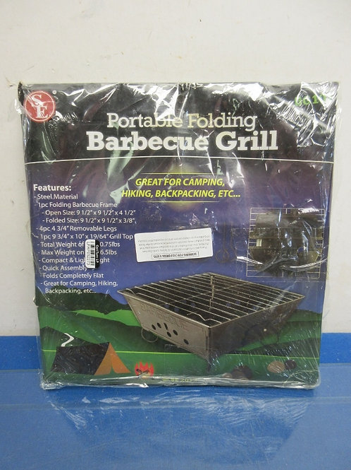 Portable folding BBQ grill - new in package