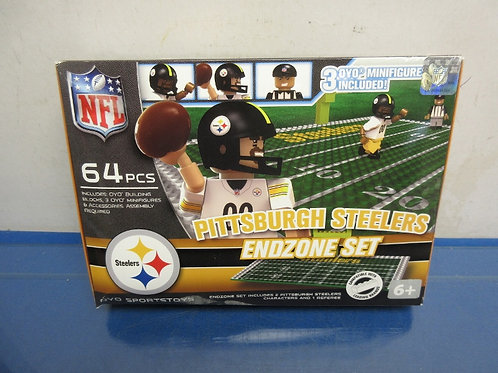 Pittsburgh Steelers endzone set - 64 pc