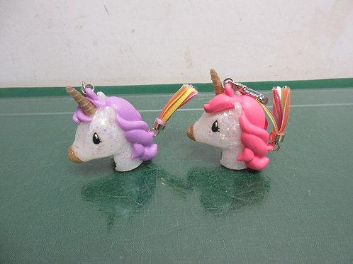 Bath & Body Works set of 2 unicorn hand sanitizer key chains