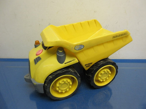 Little Tikes yellow dump truck with moveable parts