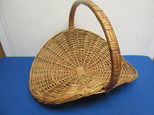 Large woven open basket
