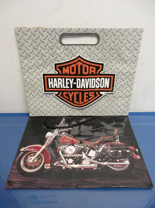 Pair of Harley Davidson paper shopping bags