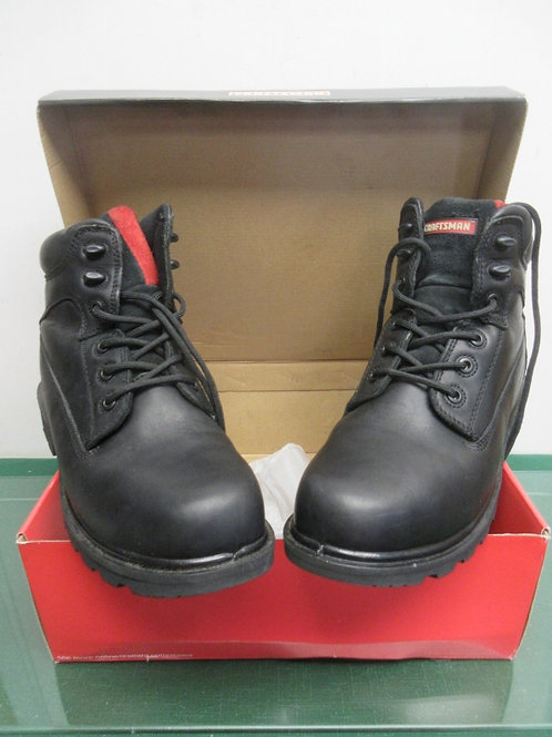 Craftsman ultimate performance steel toed waterproof black boots, Size 10, New