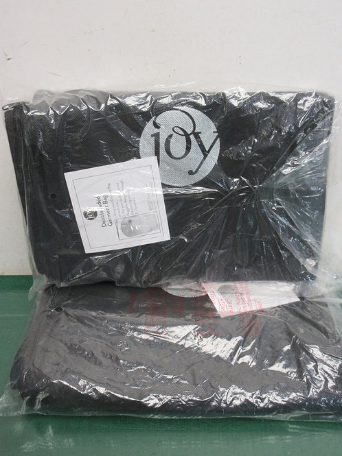 Pair of Joy Mangano double sided garment bags, New
