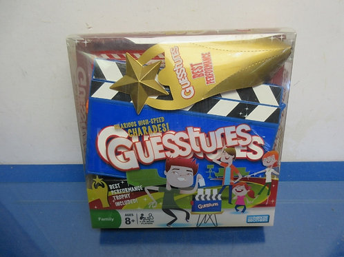 Guesstures hilarious high-speed charades!- ages 8+