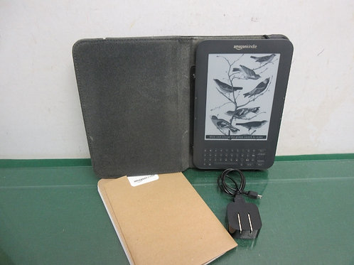"Amazon kindle keyboard  6"" 3rd edition 4gb wifi tablet"