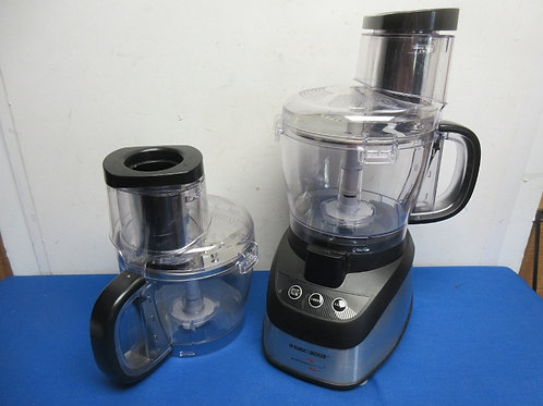 Black & Decker Power Pro wide mouth 10 cup 2 speed food processor w/extra contai