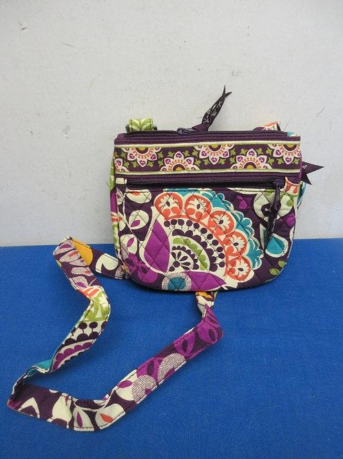 Vera Bradley cross body purse -Purple