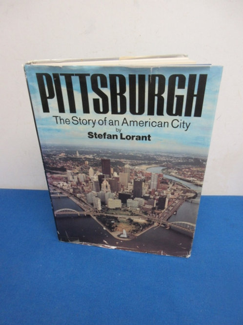 Pittsburgh Story of an american city - coffee table book