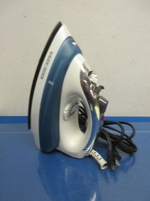 Black & Decker variable control steam iron
