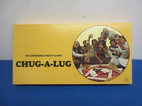 Vintage chug-a-lug drinking game from 1969