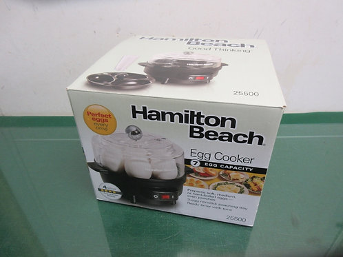 Hamilton Beach egg cooker in box