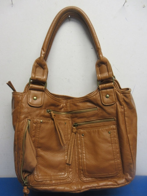 Bueno Large light brown purse