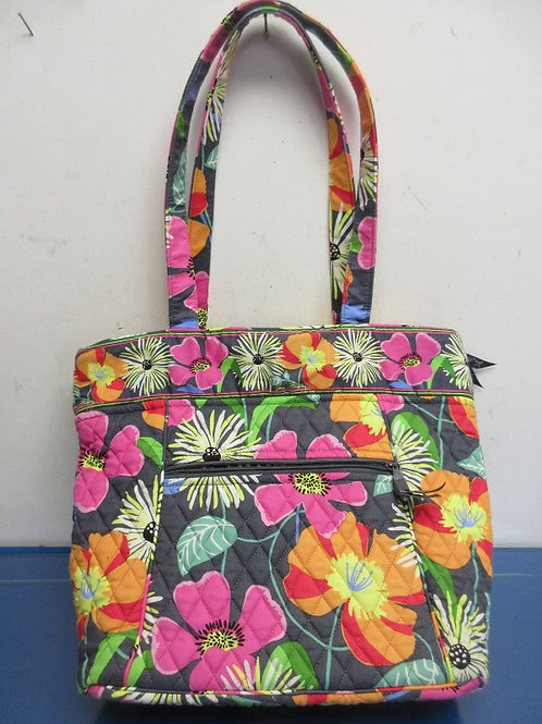 Vera Bradley large multi colored floral design purse