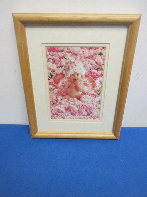 """Anne Geedes photo Baby surrounded by flowers, 9x11"""""""