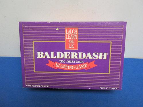Balderdash hilarious bluffing game