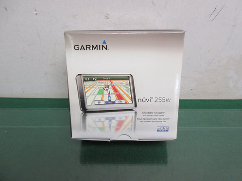 "Garmin Nuvi 255w navigation system 4.3"" portable gps with car lighter charger"