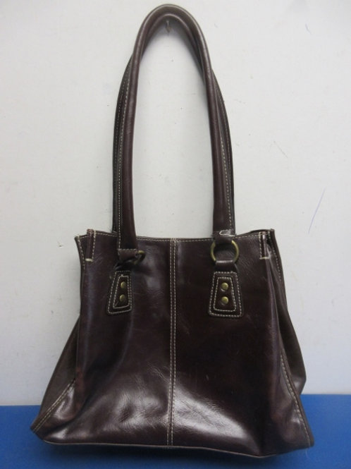 Nine and co. by nine west brown leather purse