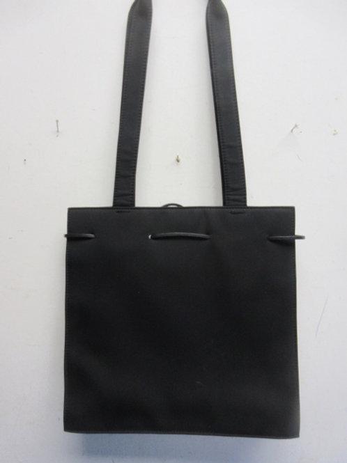 Liz Clairborne square black purse
