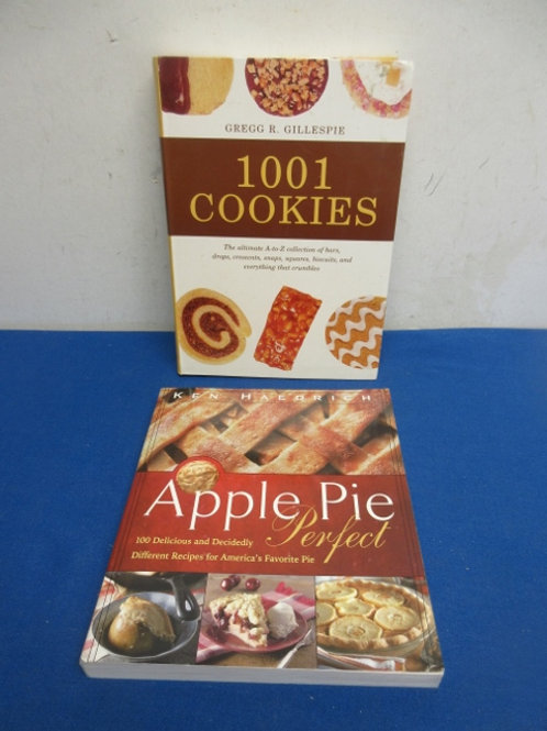 For the bakers, 1001 cookie recipes, & Apple Pie 100 ways