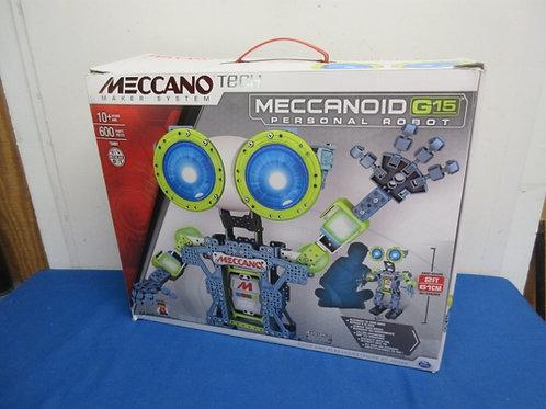 Meccano Tech maker system - G15 personal robot