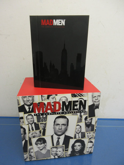 Mad Men The Complete Collection,should be 30 DVD, one missing