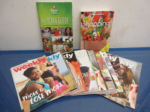 Weight Watcher set of over 30 pamphlets and booklets