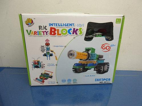 Intelligent 4-in-1 variety blocks building set