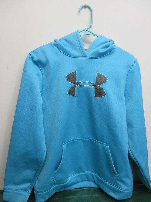 Under Armour youth XL hoodie - aqua