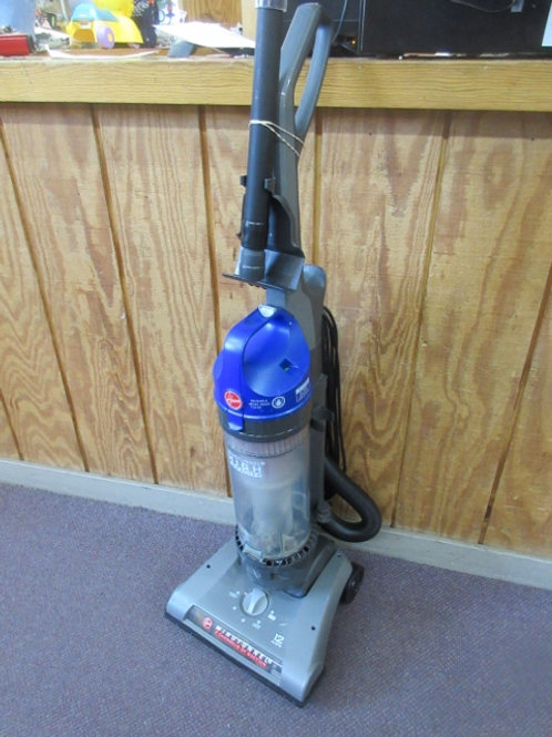 Hoover wind tunnel high capacity upright vacuum - blue