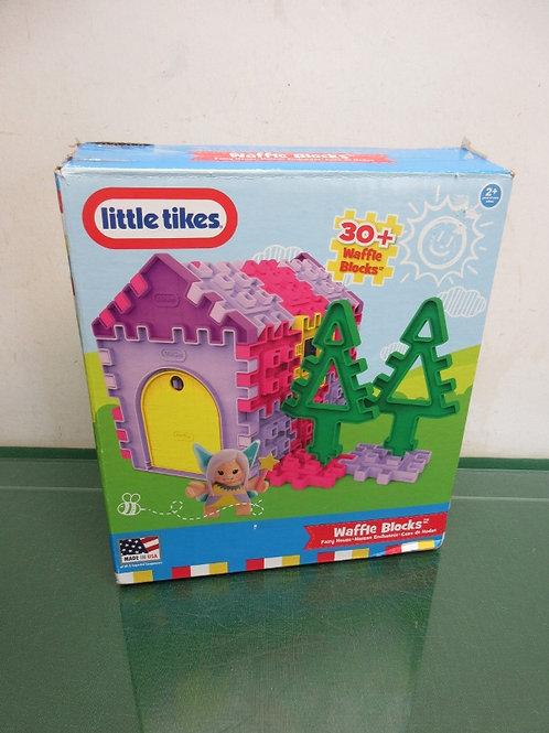 Little Tikes 30+waffle block set, fairy house mansion